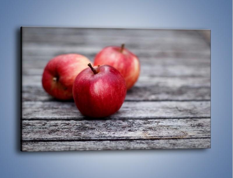 Obraz na płótnie – Jabłkowe zdrowie – jednoczęściowy prostokątny poziomy JN296