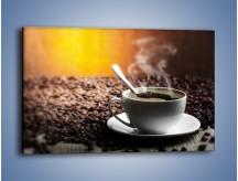 Obraz na płótnie – Aromatyczna filiżanka kawy – jednoczęściowy prostokątny poziomy JN298