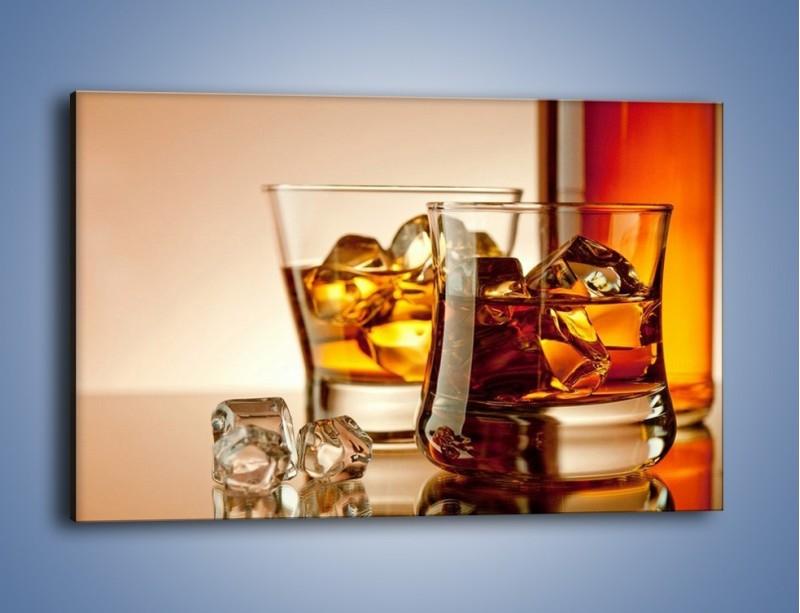 Obraz na płótnie – Męskie rozmowy przy whisky – jednoczęściowy prostokątny poziomy JN318
