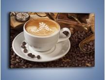 Obraz na płótnie – Czas na kawę – jednoczęściowy prostokątny poziomy JN353