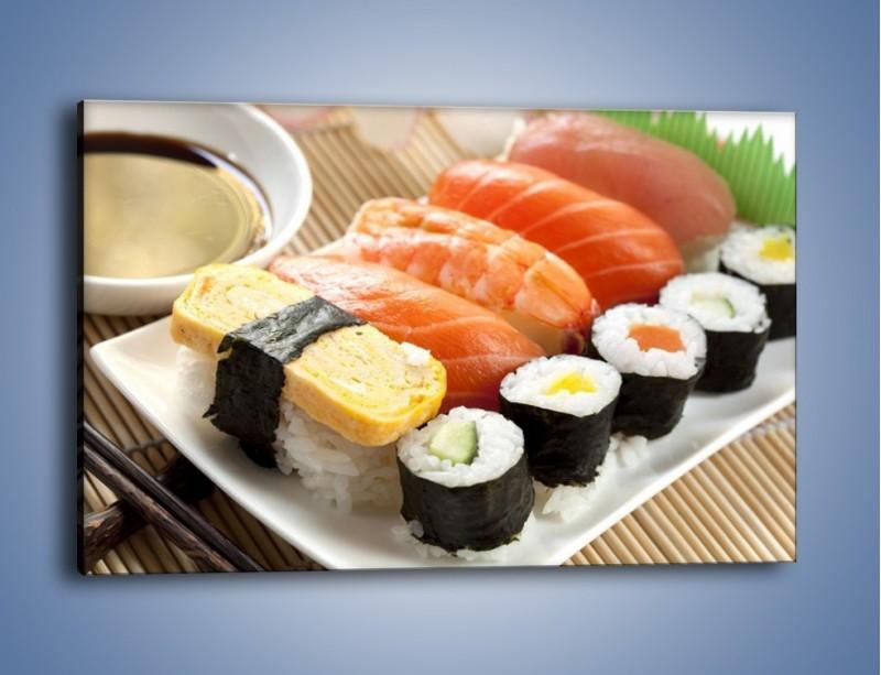 Obraz na płótnie – Azjatyckie posiłki – jednoczęściowy prostokątny poziomy JN355