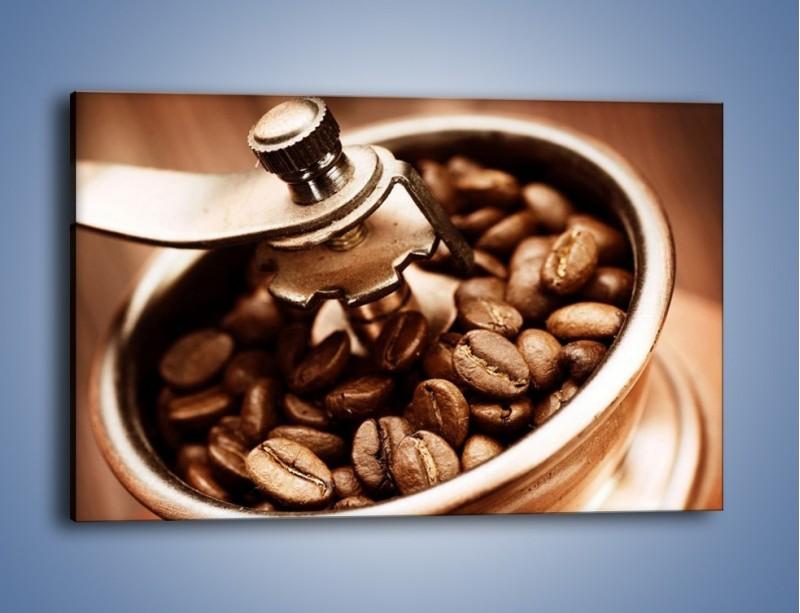 Obraz na płótnie – Kawa w młynku – jednoczęściowy prostokątny poziomy JN361