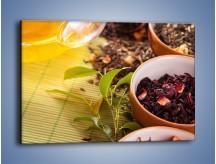 Obraz na płótnie – Aromatyczne przyprawy do herbaty – jednoczęściowy prostokątny poziomy JN492