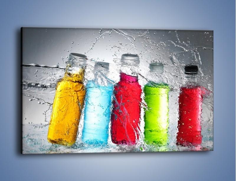 Obraz na płótnie – Alkohol zatopiony w wodzie – jednoczęściowy prostokątny poziomy JN584