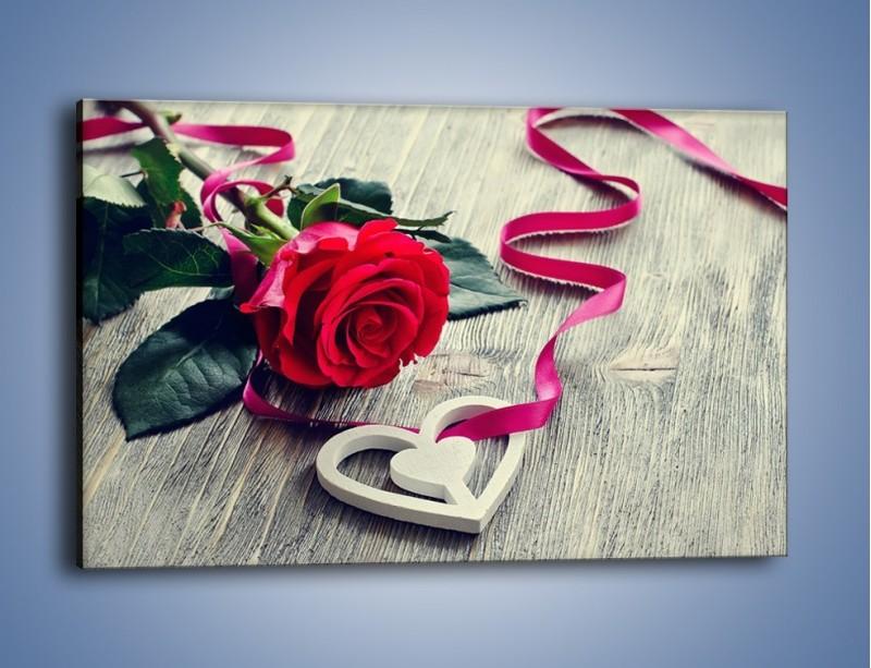 Obraz na płótnie – Od serca aż po różę – jednoczęściowy prostokątny poziomy K1013