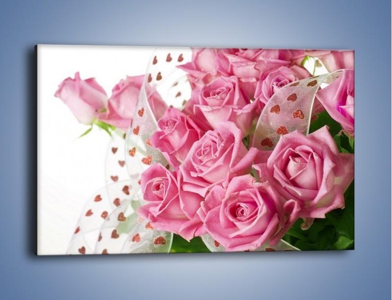 Obraz na płótnie – Bukiet pełny miłości – jednoczęściowy prostokątny poziomy K208