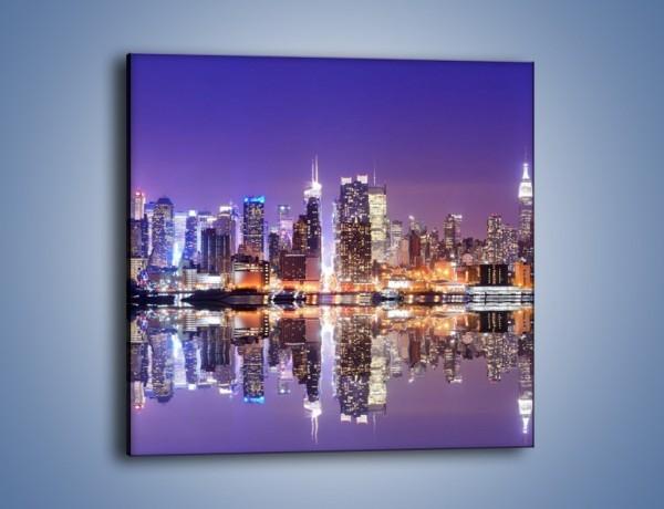 Obraz na płótnie – Panorama Midtown Manhattan – jednoczęściowy kwadratowy AM492