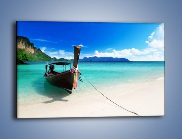 Obraz na płótnie – Wodny transport w tajlandii – jednoczęściowy prostokątny poziomy KN083