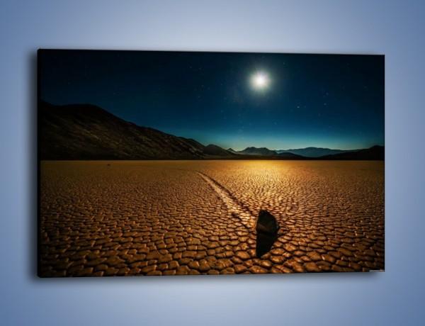 Obraz na płótnie – Kamienna mozaika na ziemi – jednoczęściowy prostokątny poziomy KN1019