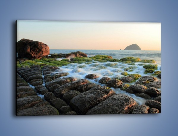 Obraz na płótnie – Ścisk wśród kamieni – jednoczęściowy prostokątny poziomy KN1026