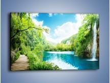 Obraz na płótnie – Krajobraz jak malowany – jednoczęściowy prostokątny poziomy KN1088