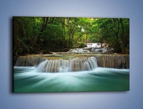 Obraz na płótnie – Wodne stopnie do nieba – jednoczęściowy prostokątny poziomy KN1089