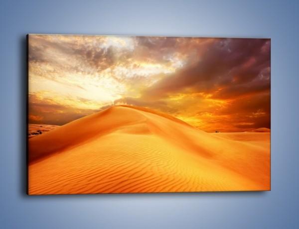 Obraz na płótnie – Słońce zatopione w piasku – jednoczęściowy prostokątny poziomy KN1093A