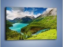 Obraz na płótnie – Górski krajobraz wiosną – jednoczęściowy prostokątny poziomy KN113