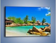 Obraz na płótnie – Pocztówka z wakacji – jednoczęściowy prostokątny poziomy KN1160A
