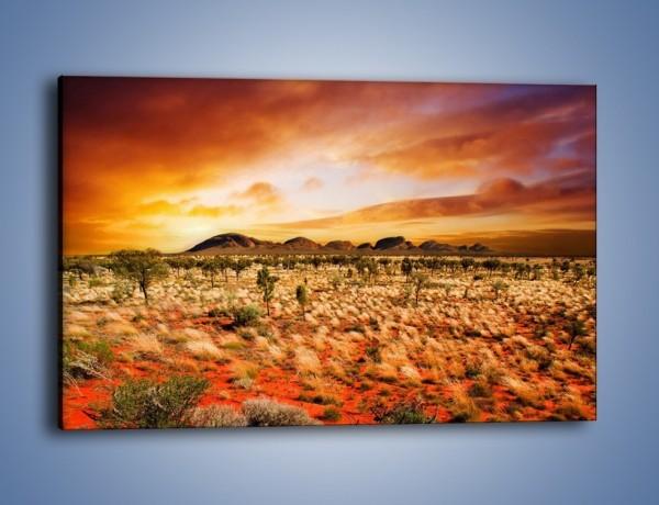 Obraz na płótnie – Oaza w kolorach ognistej ziemi – jednoczęściowy prostokątny poziomy KN192