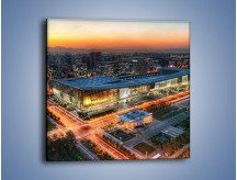 Obraz na płótnie – Centrum kongresowe CNCC w Chinach – jednoczęściowy kwadratowy AM575