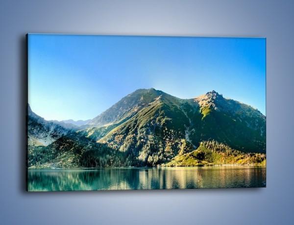 Obraz na płótnie – Chłodny klimat górski – jednoczęściowy prostokątny poziomy KN844