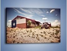 Obraz na płótnie – Autem przez texas – jednoczęściowy prostokątny poziomy KN874