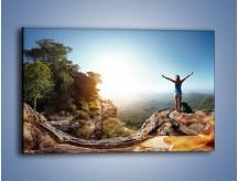 Obraz na płótnie – Wolność siła i piękno – jednoczęściowy prostokątny poziomy KN902