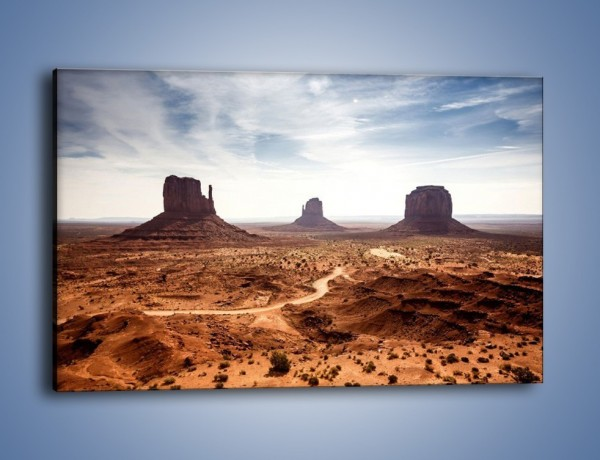 Obraz na płótnie – Spragniona ziemia skąpana w słońcu – jednoczęściowy prostokątny poziomy KN943