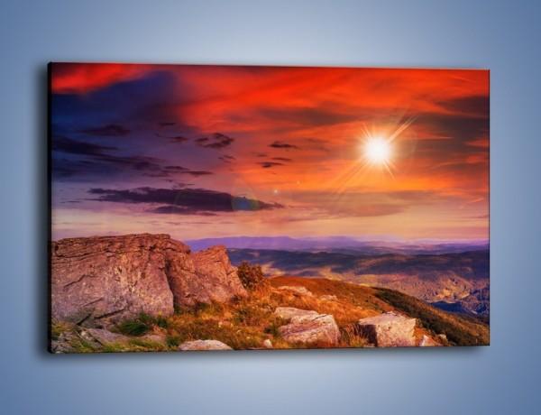 Obraz na płótnie – Widok ze szczytu – jednoczęściowy prostokątny poziomy KN970