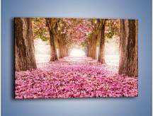 Obraz na płótnie – Świat usłany kwiatami – jednoczęściowy prostokątny poziomy KN998
