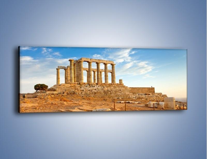 Obraz na płótnie – Antyczne ruiny – jednoczęściowy panoramiczny AM168