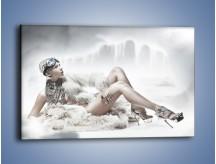 Obraz na płótnie – Biel i jego bogactwo – jednoczęściowy prostokątny poziomy L100