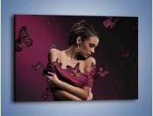 Obraz na płótnie – Delikatna krucha kobieca – jednoczęściowy prostokątny poziomy L215