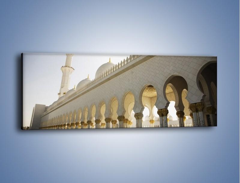 Obraz na płótnie – Bliskowschodnia architektura – jednoczęściowy panoramiczny AM177