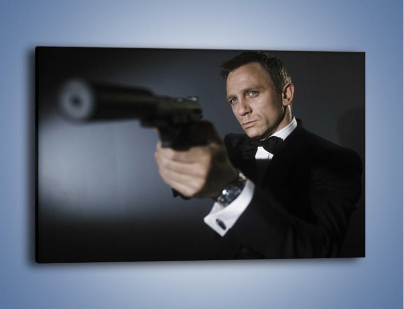 Obraz na płótnie – Bond. james bond – jednoczęściowy prostokątny poziomy L239