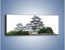 Obraz na płótnie – Azjatycka architektura – jednoczęściowy panoramiczny AM181