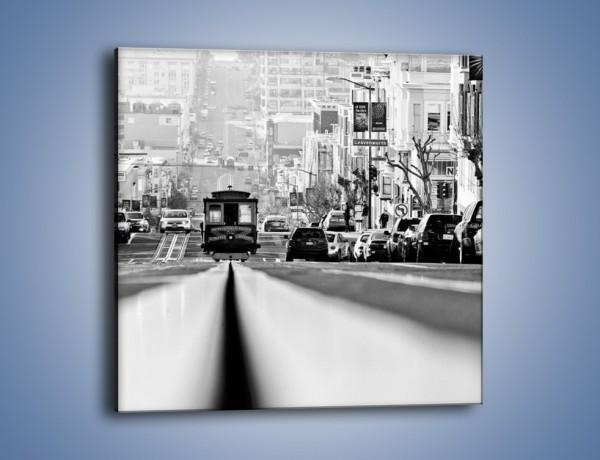 Obraz na płótnie – Powell Street w San Francisco – jednoczęściowy kwadratowy AM603