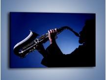 Obraz na płótnie – Koncert na saksofonie – jednoczęściowy prostokątny poziomy O110