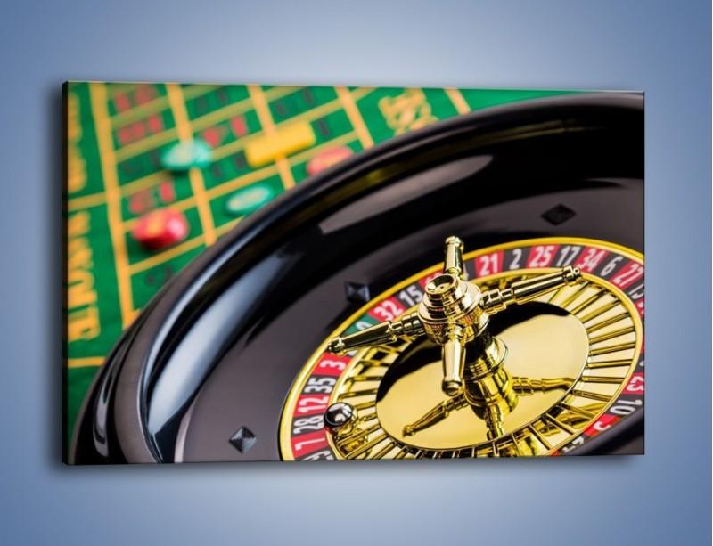Obraz na płótnie – Czas drogocenny w kasynie – jednoczęściowy prostokątny poziomy O238