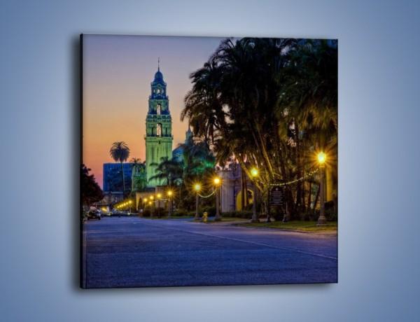 Obraz na płótnie – Balboa Park w San Diego – jednoczęściowy kwadratowy AM609