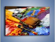 Obraz na płótnie – Kolory ze sobą zmieszane – jednoczęściowy prostokątny poziomy O251