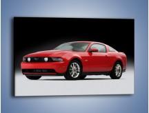 Obraz na płótnie – Czerwony Ford Mustang GT – jednoczęściowy prostokątny poziomy TM052