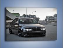 Obraz na płótnie – Czarne BMW E39 M5 – jednoczęściowy prostokątny poziomy TM072