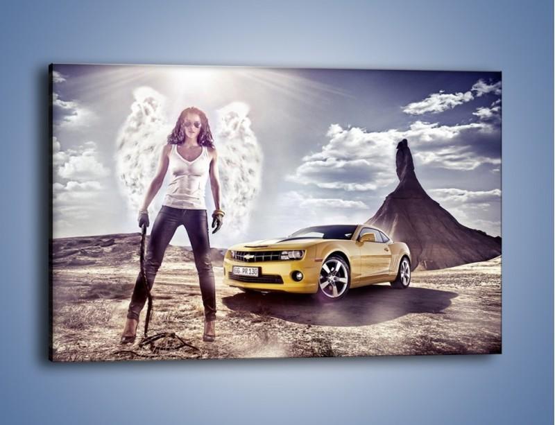 Obraz na płótnie – Chevrolet Camaro – jednoczęściowy prostokątny poziomy TM079