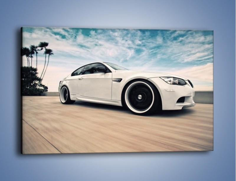 Obraz na płótnie – BMW M3 Strasse Forged Wheels – jednoczęściowy prostokątny poziomy TM094
