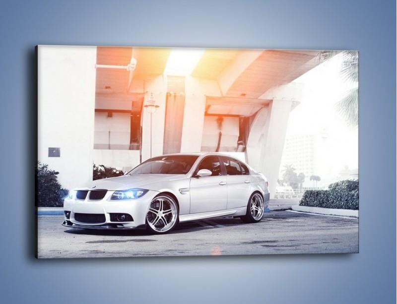 Obraz na płótnie – BMW 3 E90 – jednoczęściowy prostokątny poziomy TM112