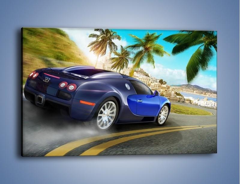 Obraz na płótnie – Bugatti Veyron – jednoczęściowy prostokątny poziomy TM123