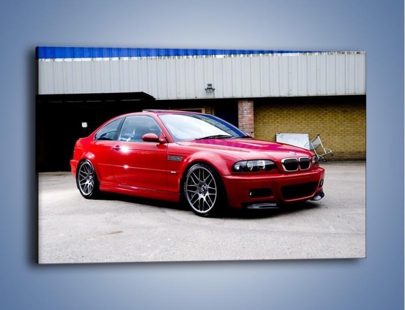 Obraz na płótnie – BMW M3 E46 Coupe – jednoczęściowy prostokątny poziomy TM125