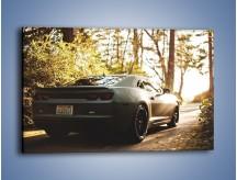 Obraz na płótnie – Chevrolet Camaro w matowym kolorze – jednoczęściowy prostokątny poziomy TM132