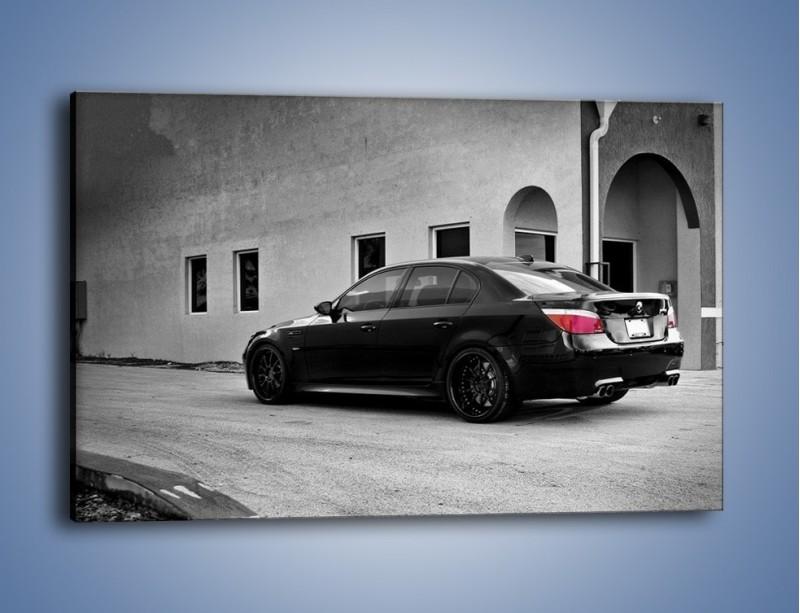 Obraz na płótnie – BMW M5 E62 – jednoczęściowy prostokątny poziomy TM135