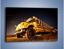 Obraz na płótnie – Amerykański School Bus – jednoczęściowy prostokątny poziomy TM146
