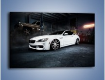Obraz na płótnie – BMW M6 F13 Vossen Wheels – jednoczęściowy prostokątny poziomy TM169