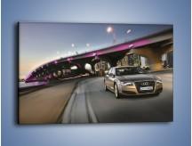 Obraz na płótnie – Audi A8 – jednoczęściowy prostokątny poziomy TM188